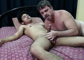 Daddy And Kris Bareback