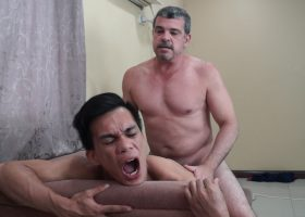 Argie Exercises Gay Sex with Daddy