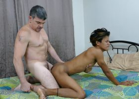 Clark and Daddy Tickle Sex