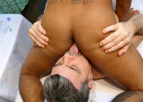 Threesome Bareback Massage