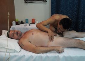 Daddy Fucks Horny Masseur