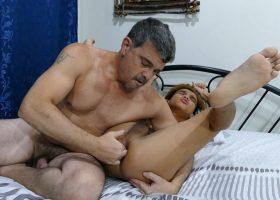 Daddy's Tickle Fun With Nishi