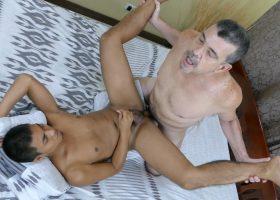 Daddy Catches Josh Jerking